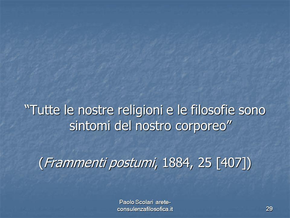 (Frammenti postumi, 1884, 25 [407])